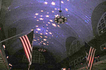 Sparkling Stars covered the ceiling of the Registry Room Great Hall