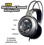 Cutaway of Surround Sound Headphones