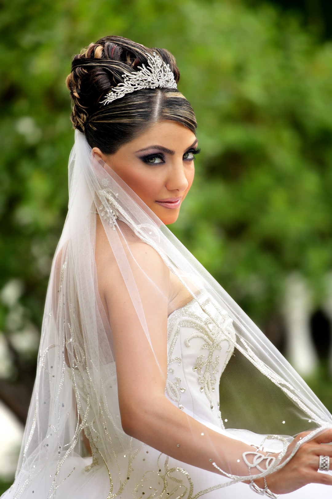 Hair and makeup by Bella Nella Bride