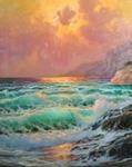 Alex Dzigurski II Oil On Canvas