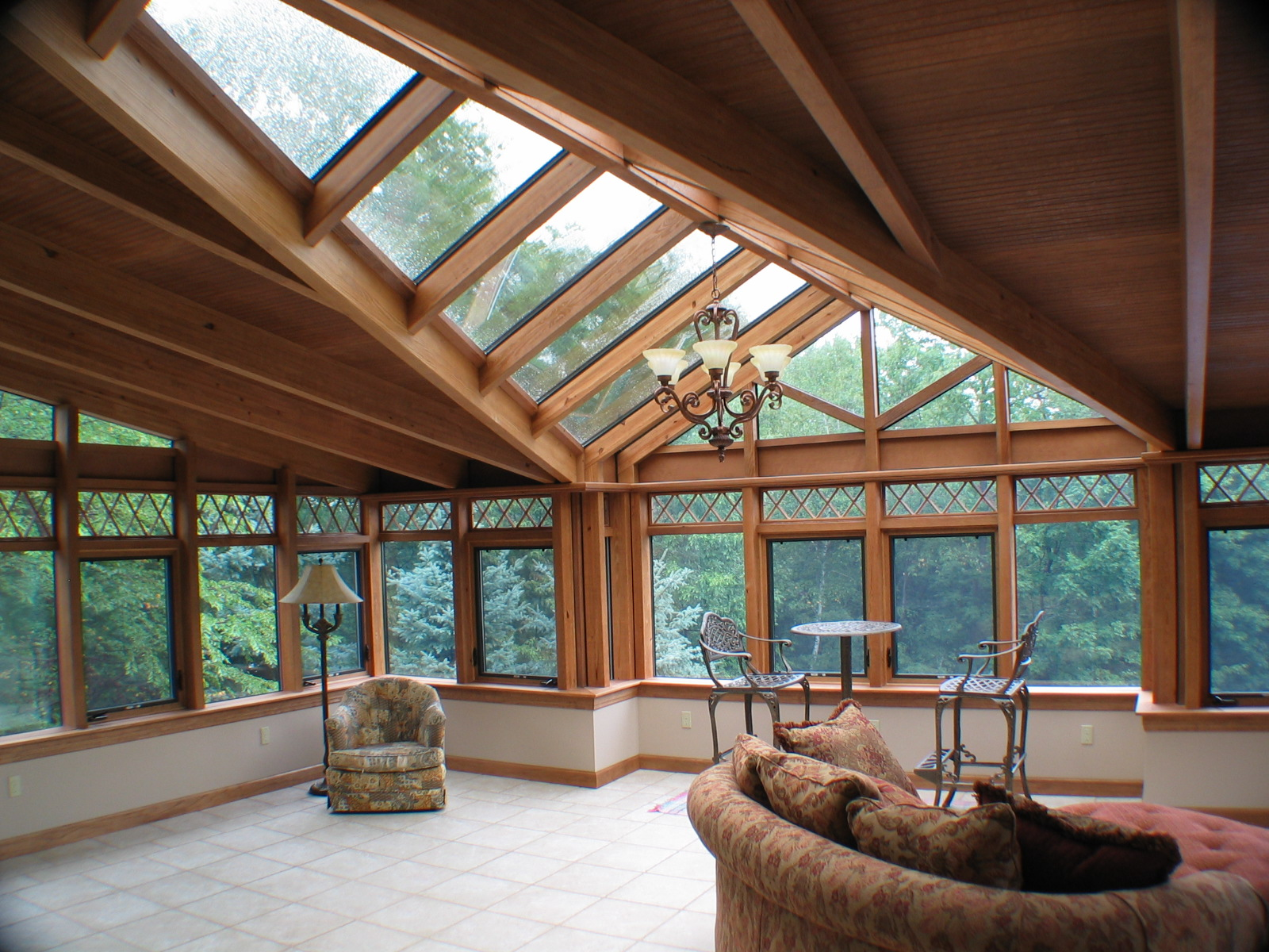 Solar innovations announces unique maintenance free skylights Wooden interior