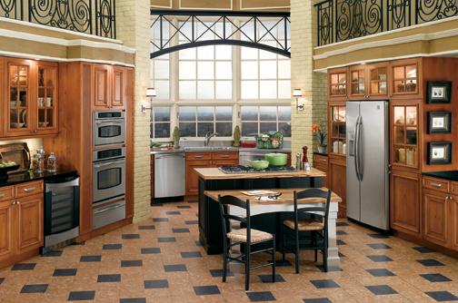 Globus Kitchen Flooring Cork