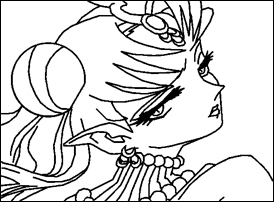 Coloring Pages Sailor Moon Doll Palace  Printable Coloring Pages