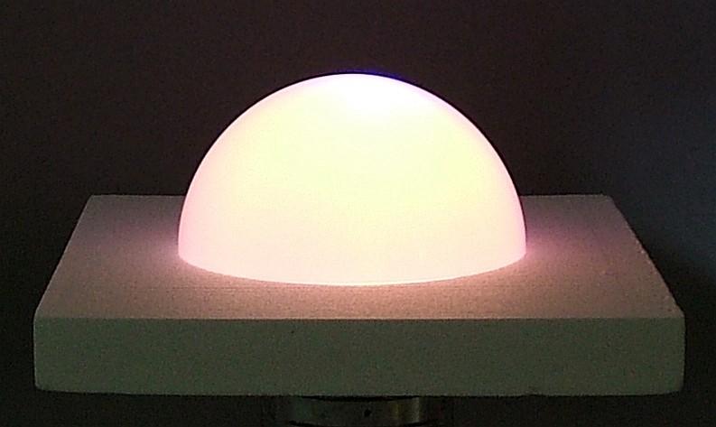 New Plastic Light Revealed Solar Cell Efficiency White