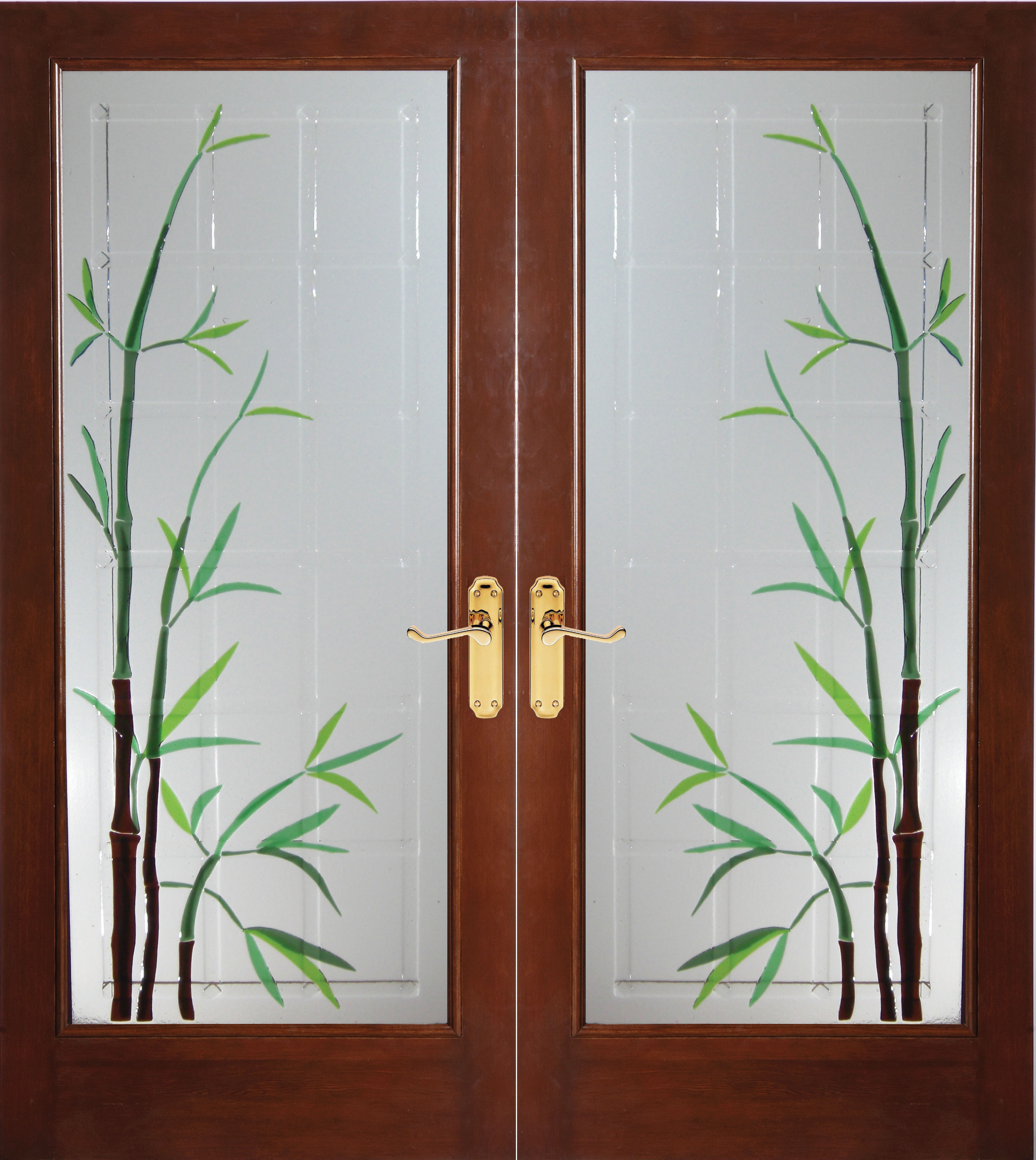 Bamboo Wood Door : Bella glass debuts exciting new innovation in home dà cor