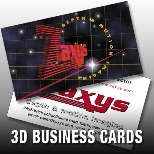 3d Artist Business Cards