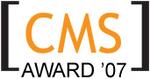 2007 Open Source CMS Award Logo