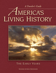 Cover of new travel book 'America's Living History-The Early Years'