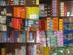 The candy store provides a great selection of chocolate candy, mints, bulk candy, chewing gum, hard candy, and sweet candy.