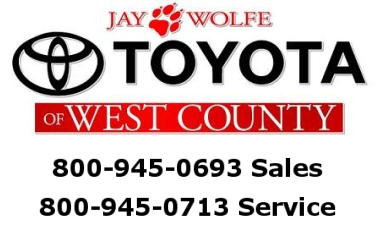 jay wolfe toyota of west county partners with ask patty to market to women consumers. Black Bedroom Furniture Sets. Home Design Ideas