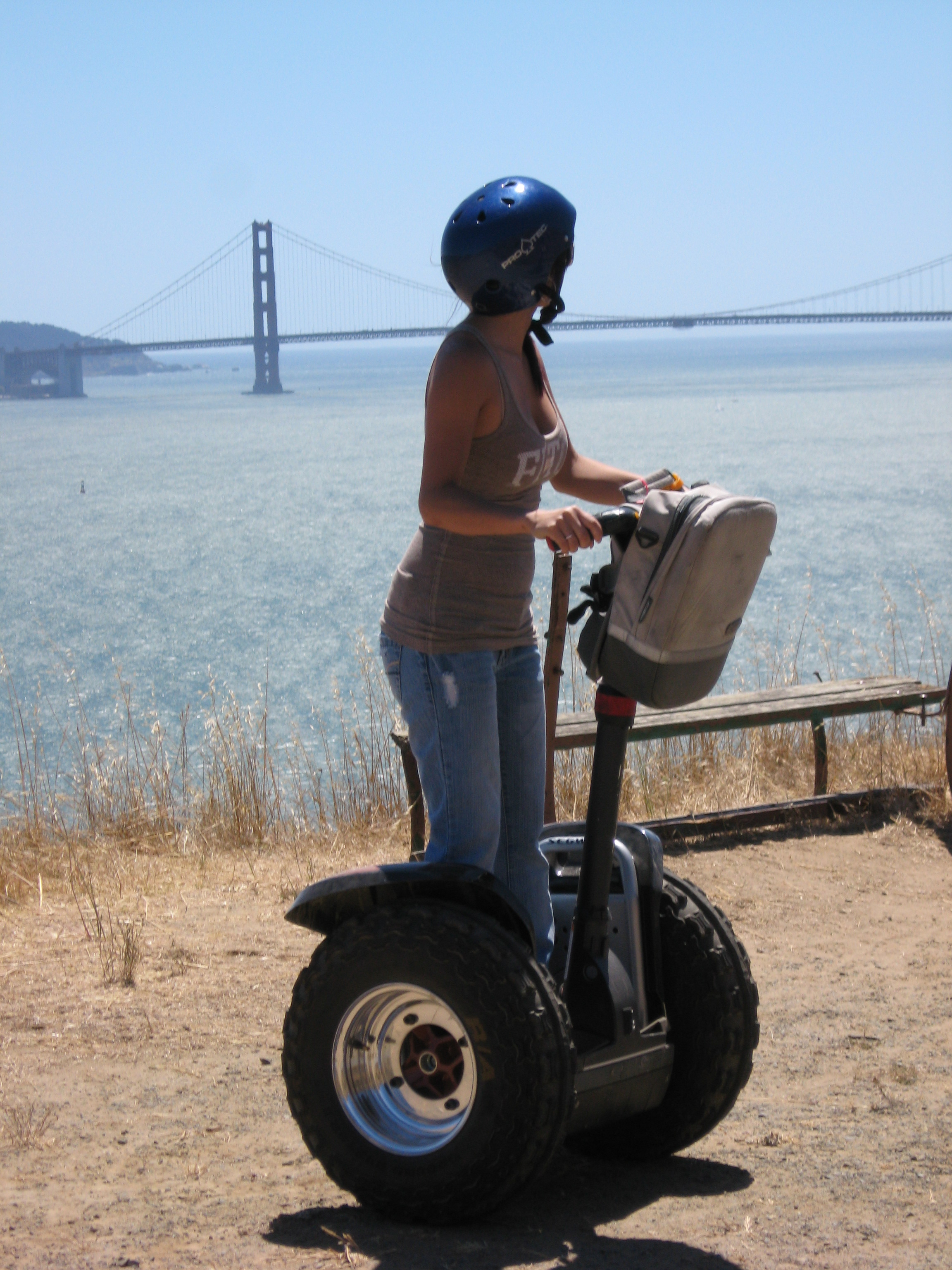Segway Angel Island Partners With Blue And Gold Fleet