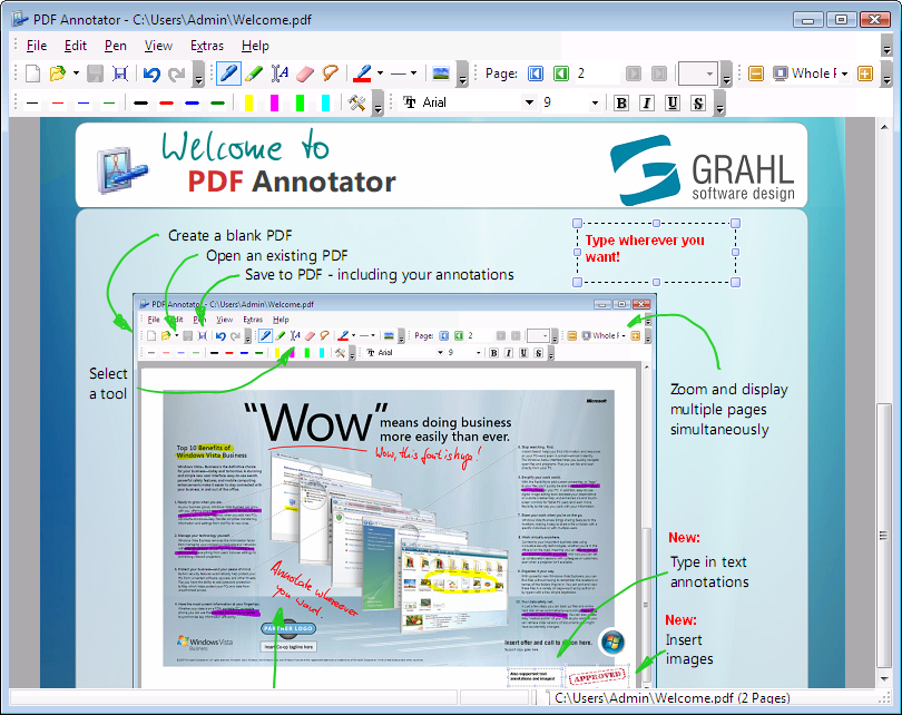 how to combine pdf files pdf annotator