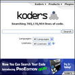 Koders Continues Innovation of its Groundbreaking Website