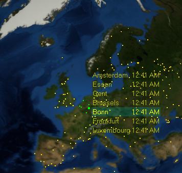 Anuko world clock 40 released anuko world clock interactive world map gumiabroncs Choice Image