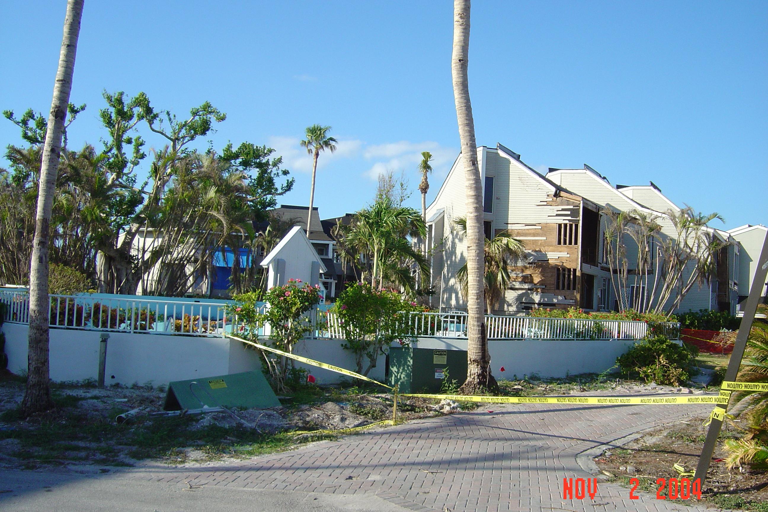 Island Seas Resort Damage