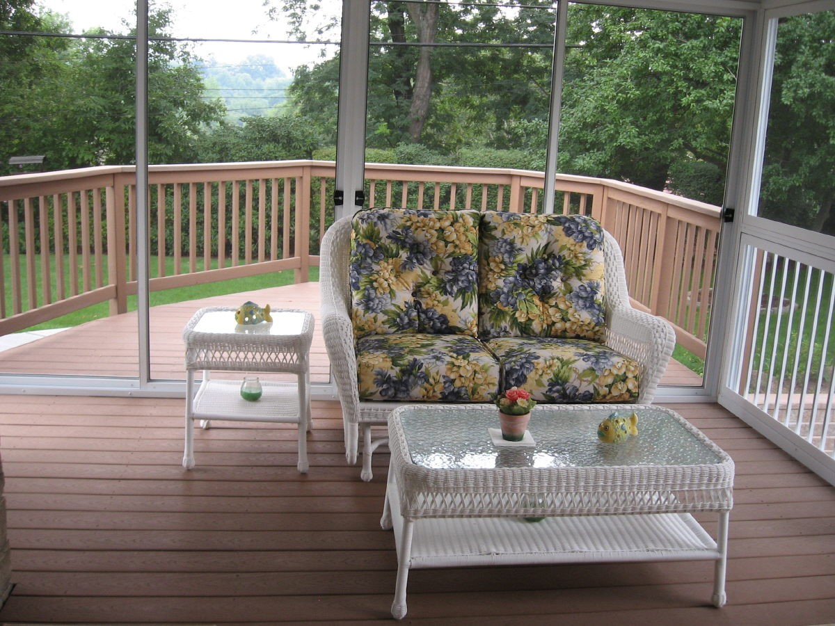 leading sunroom manufacturer patio enclosures inc selects trex