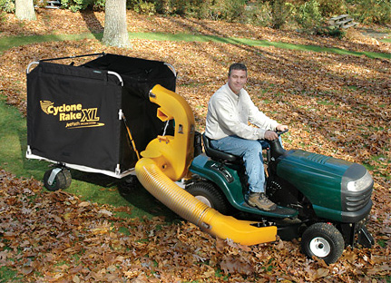 Two New, More Powerful Cyclone Rake Lawn Vacuum Models Introduced