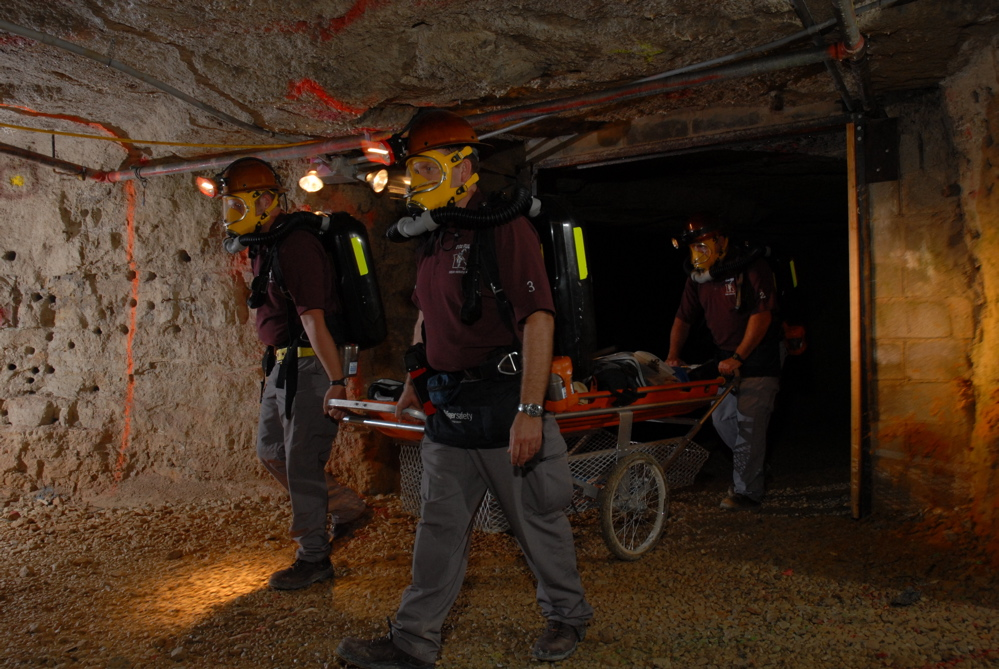 doe run team places first in regional mine rescue competition
