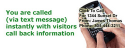 Click To Call Message Sellers Receive
