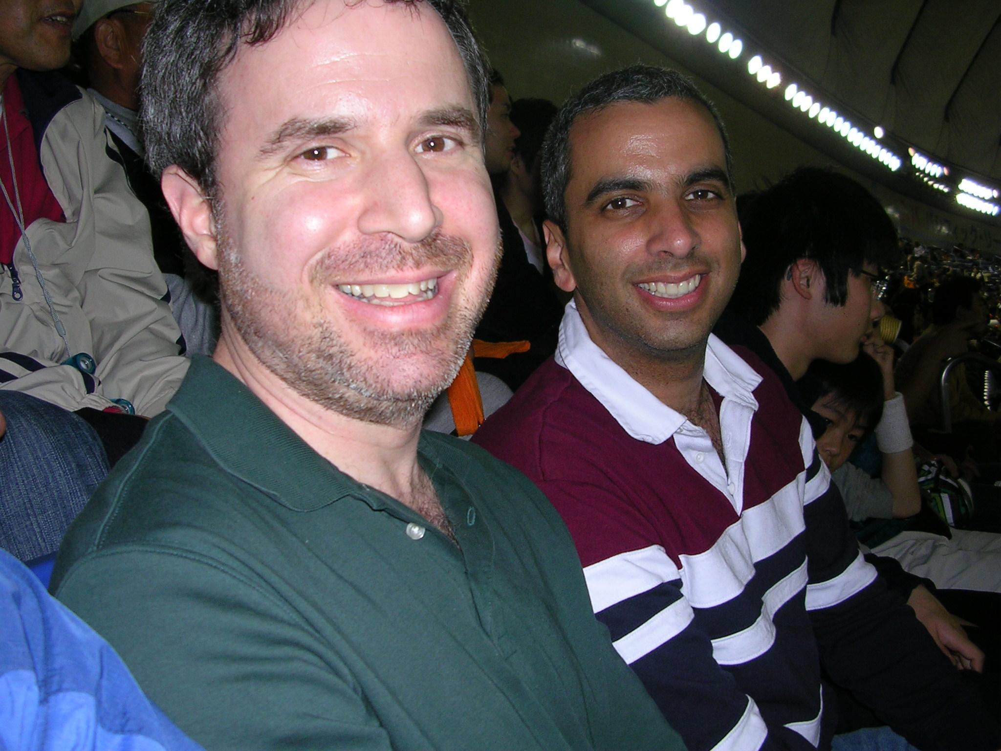 Dan Gordon and Mickey Bradley Haunted Baseball