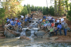 Aquascape, Inc. Teams Up With Smith Turf Irrigation And NASCAR To Build  Giant Waterfall For Richard U0026 Kyle Pettyu0027s Childrenu0027s Camp.