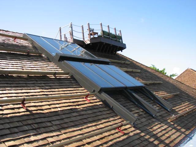 Retractable Skylight By Solar Innovations ...