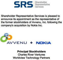 Avvenu Appoints SRS as Stockholder Representative in Nokia