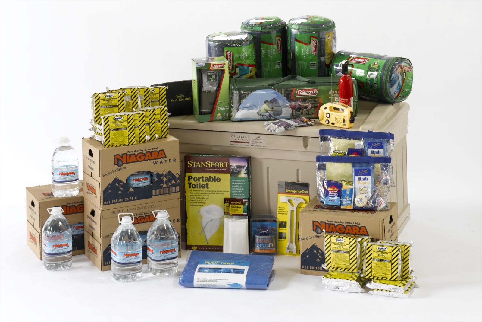 jpg qr center four person earthquake preparedness kit