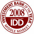 Harris Williams & Co. Named Middle Market Investment Bank of the Year