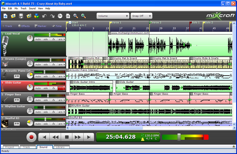 recording studio software free download for windows xp