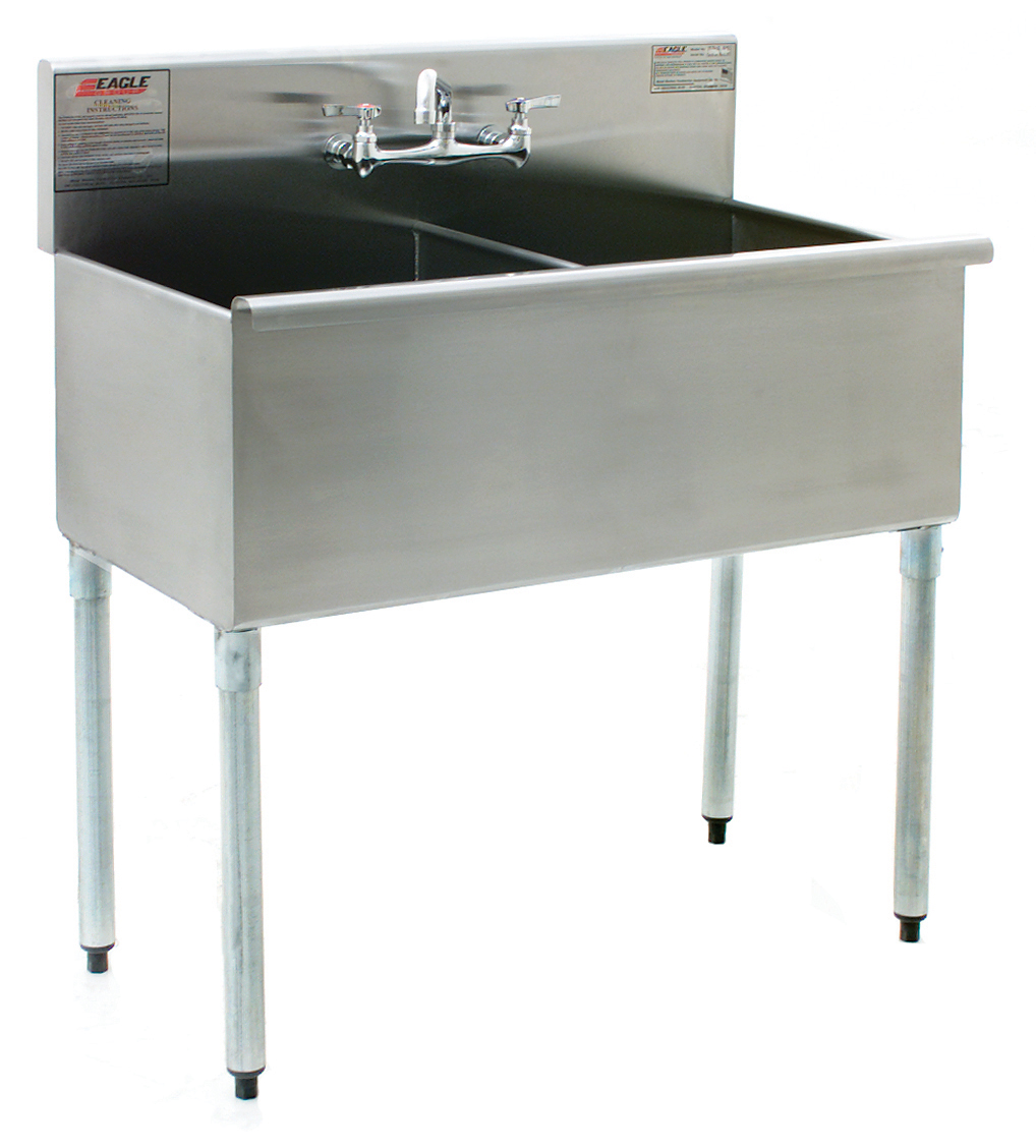 Newly Designed Stainless Steel Utility Sinks from Eagle MHC
