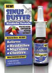 Nose spray for migraines