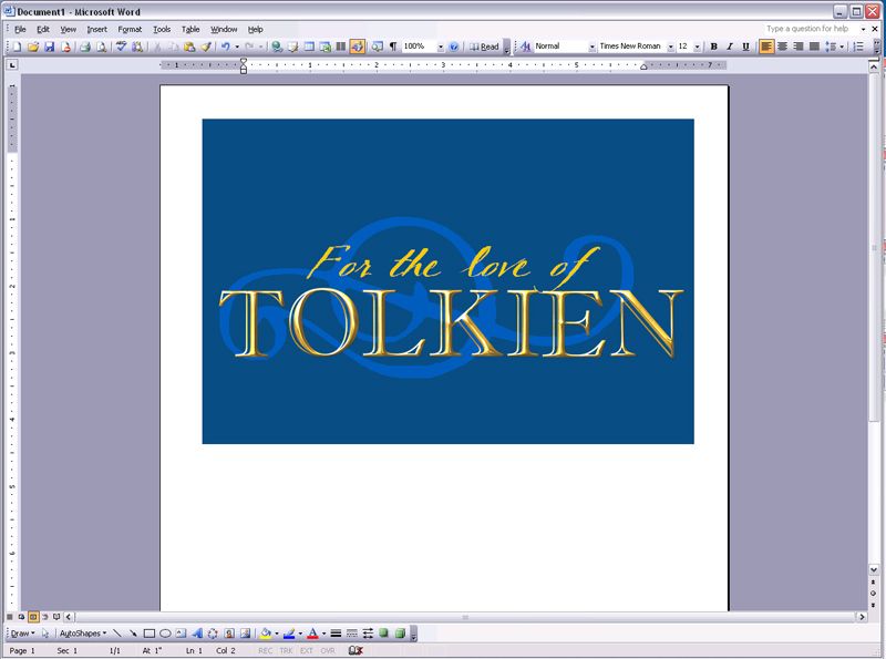 Microsoftword Text File