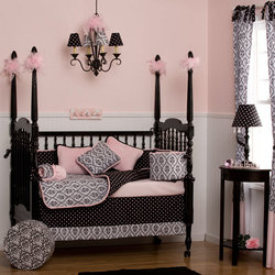 Damask Baby Bedding Collection