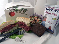 Progressive gourmet offers boxed lunches and fresh canap s for Canape wilmington