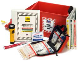 American School Safety Crisis Response Kit ® (CRK), U.S. Patent # 7,628,275.