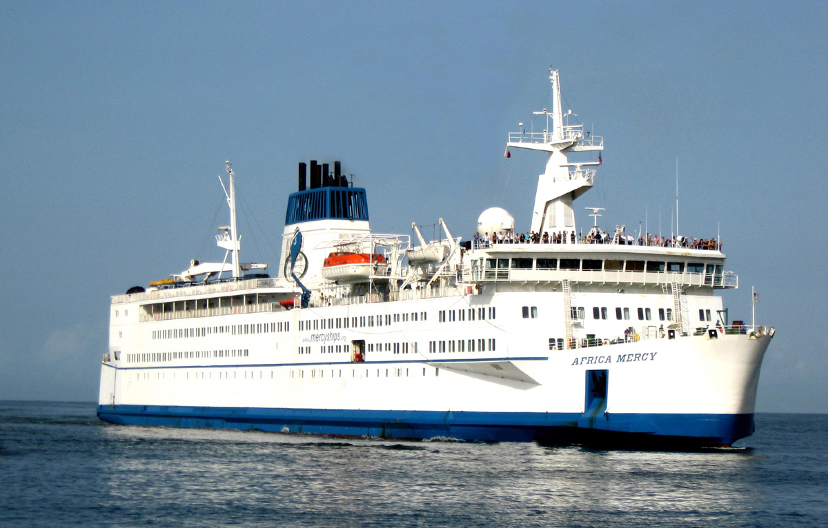 American Philanthropists Get Onboard With Mercy Ships