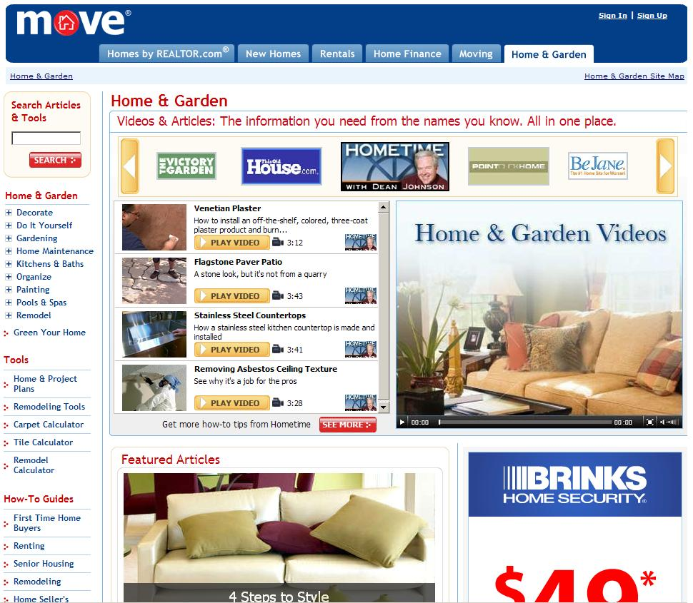 Home Garden Advertisers Tap Into 9 4 Million Monthly Unique Users 1 At Move