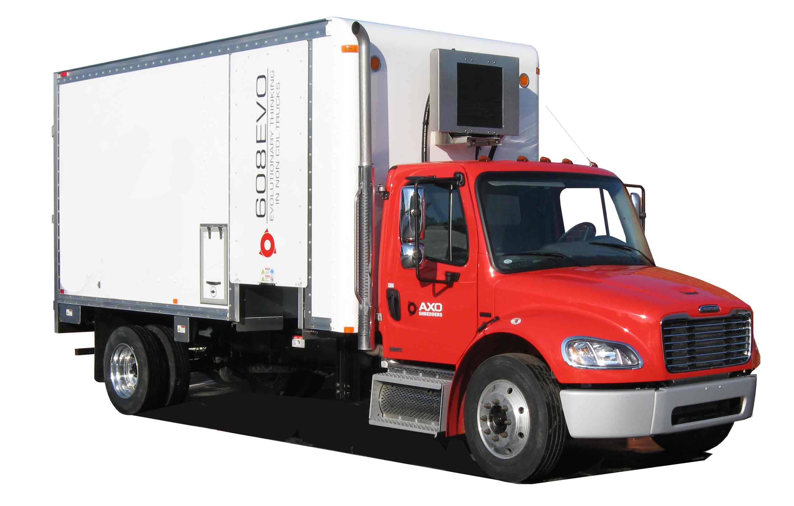mobile paper shredding trucks for sale