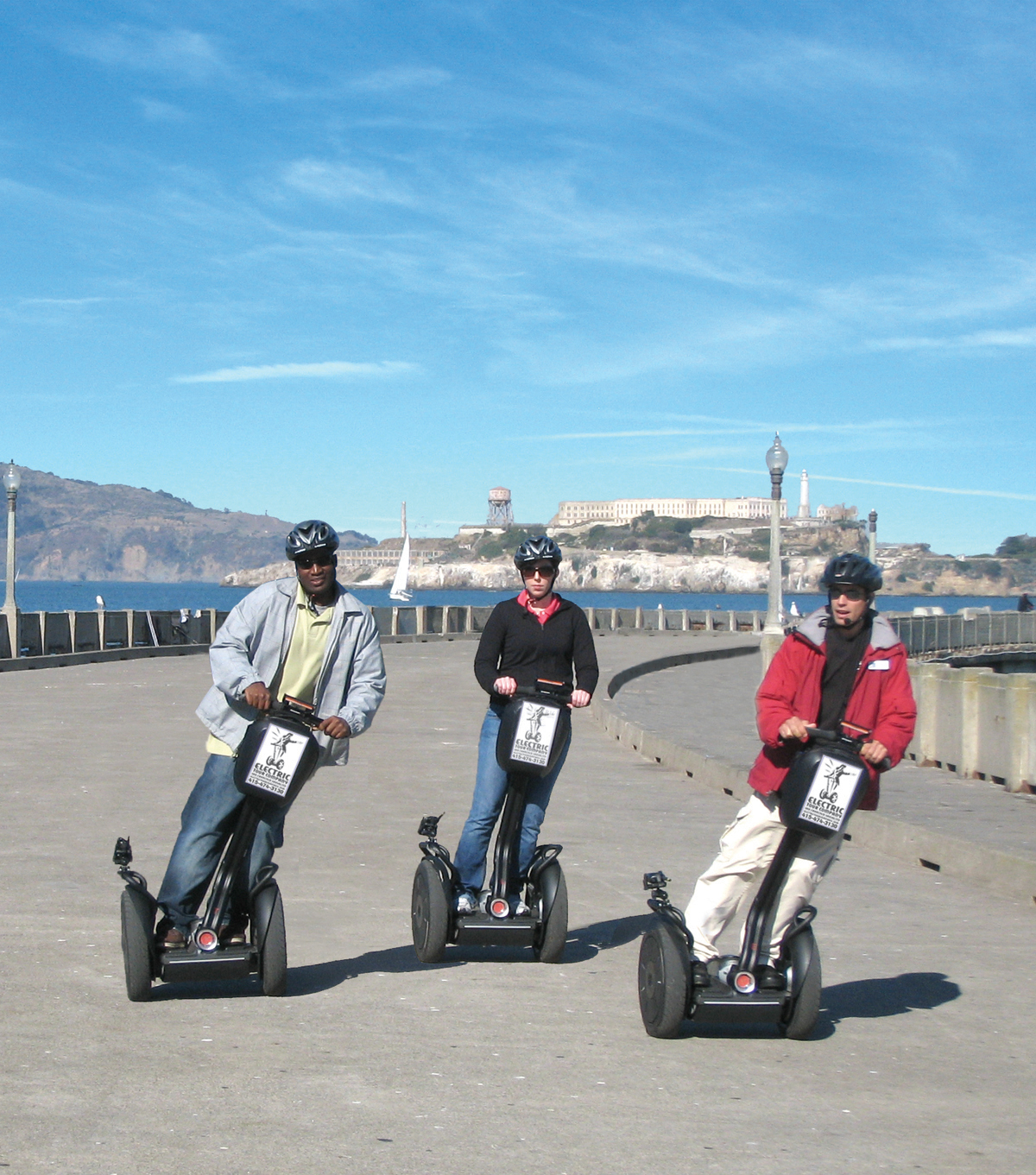 New San Francisco Segway Tours Take On The Quot Crookedest
