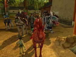 World of Kung Fu is a virtual world set in ancient China.