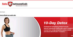 gI 0 swissnutraone Entire Body Cleanse for Busy People: Gentle 10 Day Detox Newly Launched by Swiss Nutraceuticals