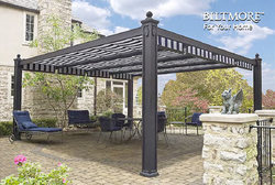 National retractable canopies and shade awnings manufacturer makes fashion statement for outdoor living with the introduction of Biltmore™ ... & Leading Retractable Shade Canopy Manufacturer Introduces a ...