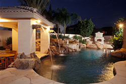 creative environments design landscape offers financing at great rates on arizona landscaping and pool design for customers who sign contracts in october