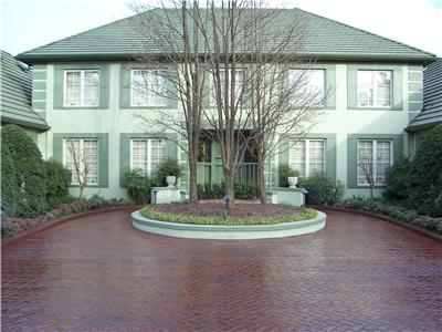 stamped and colored decorative concrete drivewaythere are unlimited options for creating the perfect driveway to complement your home and existing - Concrete Driveway Design Ideas