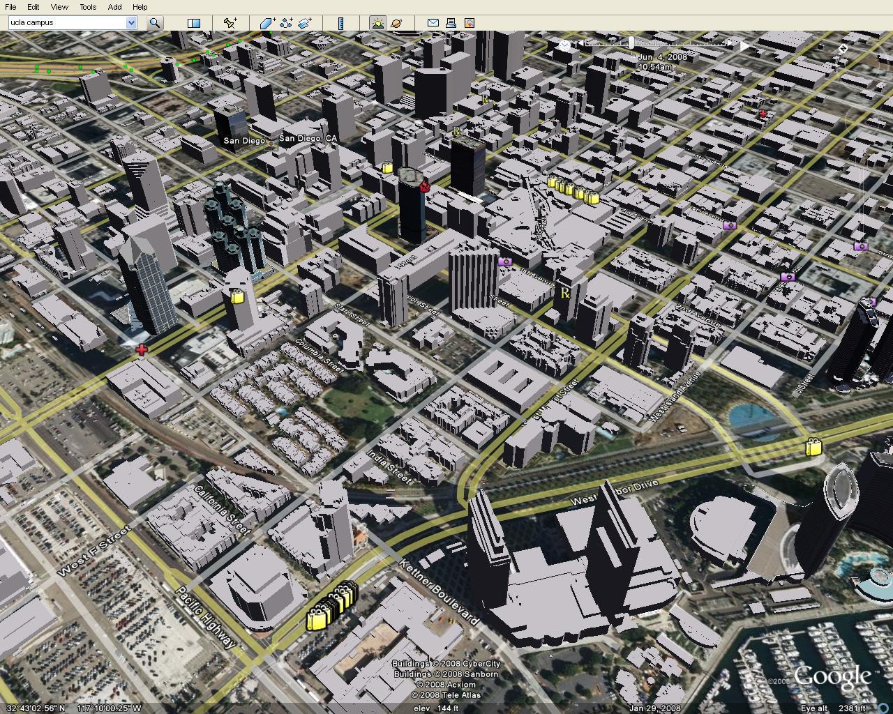 San Diego City Center 3d City Model Lands On Google Earth