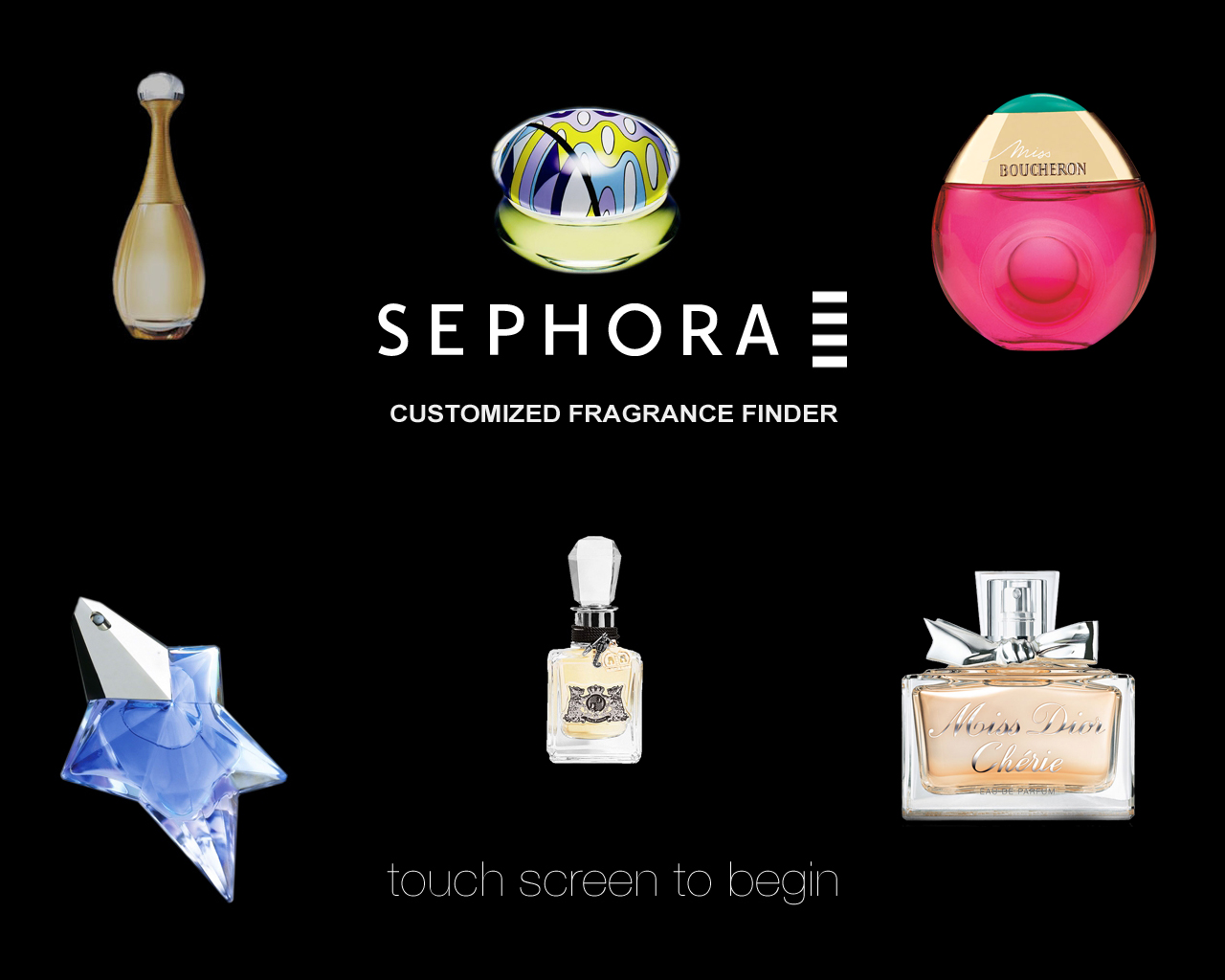 The Ultimate Fragrance GPS Now at Sephora