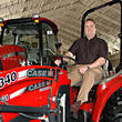 Professional Football Head Coach Mike McCarthy Endorses Service Motor Co. & Case IH Farmall Tractors