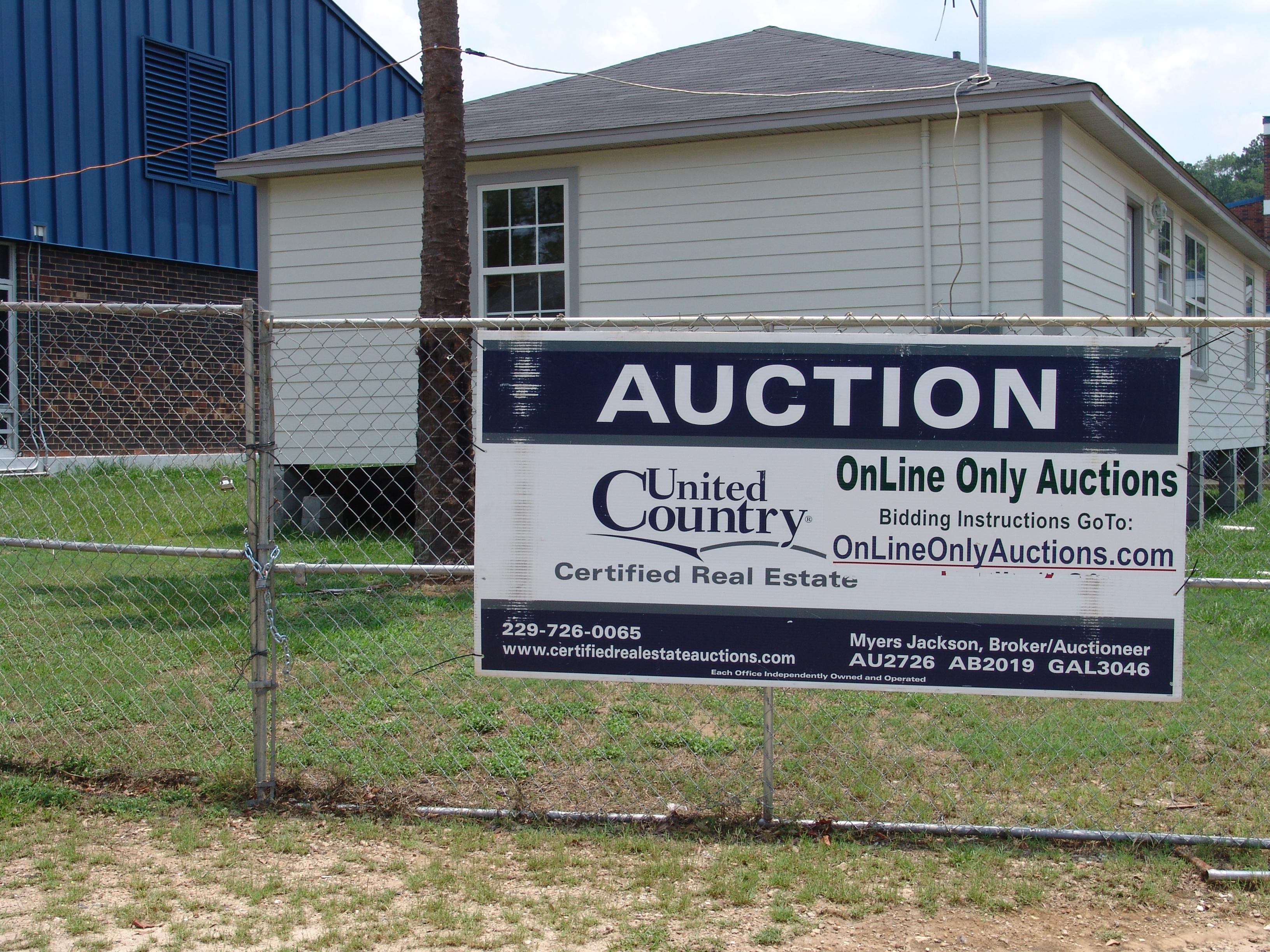 Subastas de ordenador Auctioneers Florida Real Estate Terreno casa de subastas restaurante Home Office ()