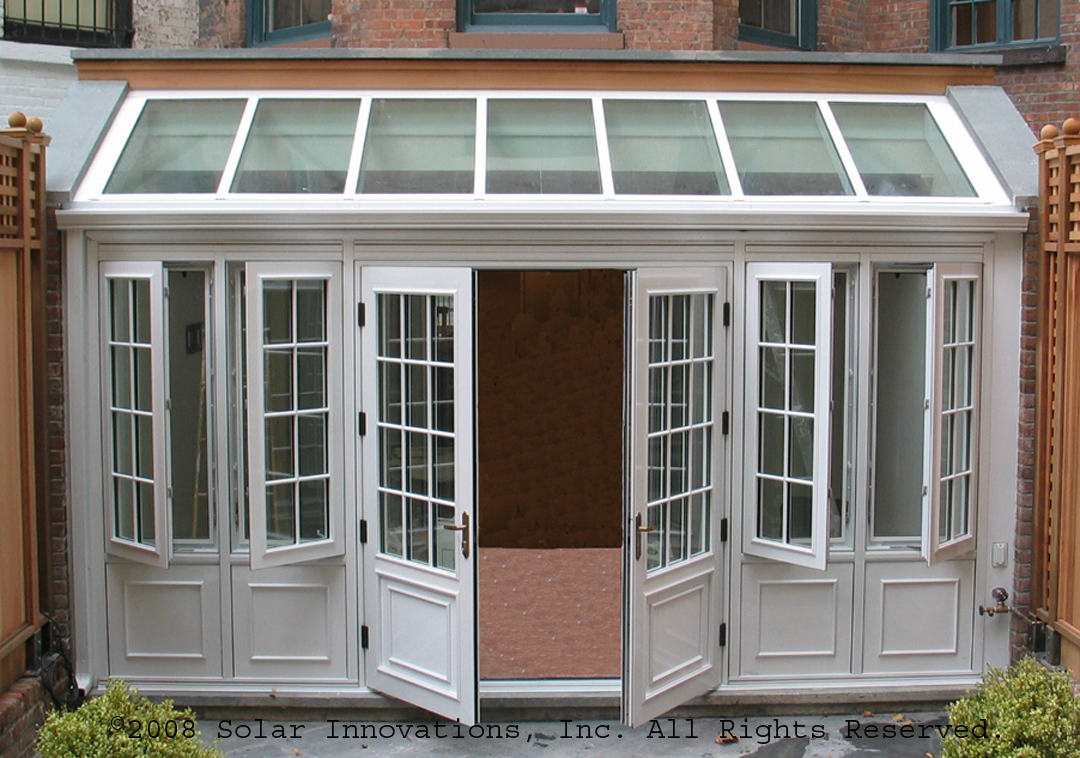 Conservatory door the nottingham window company supply for Windows doors and conservatories
